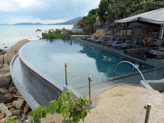 Silavadee Pool Spa Resort: All pools are infinity pools