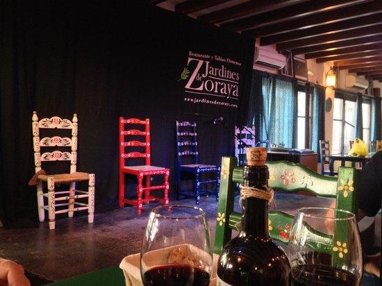 Jardines de Zoraya: Kleine Bühne