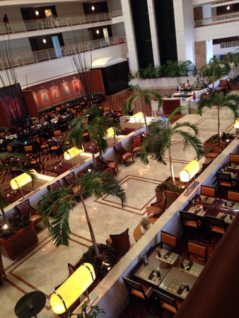 Renaissance Concourse Atlanta Airport Hotel : Beautiful atrium