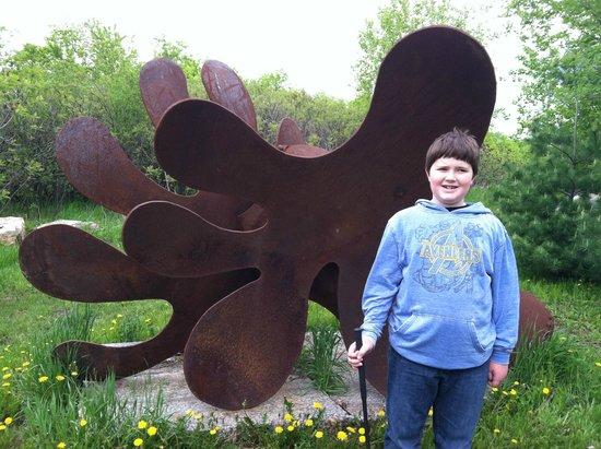 Big Stone Mini-golf and Sculpture Garden: modern art