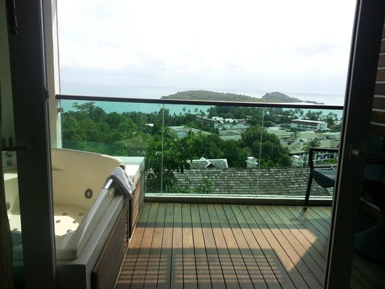 KC Resort & Over Water Villas: Lovely vast view from room