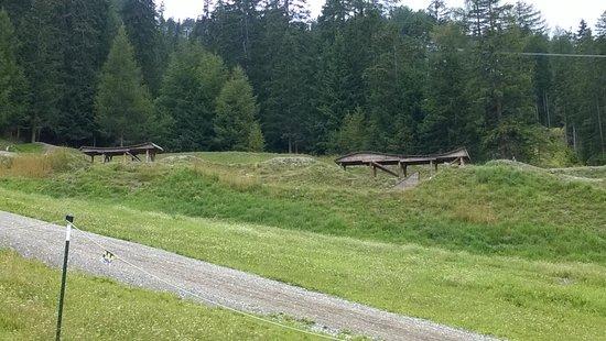 Bikepark Serfaus-Fiss-Ladis: wooden objects