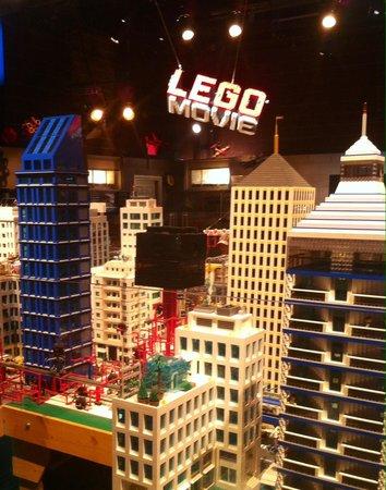 LEGOLAND California: Buildings from the Lego movie