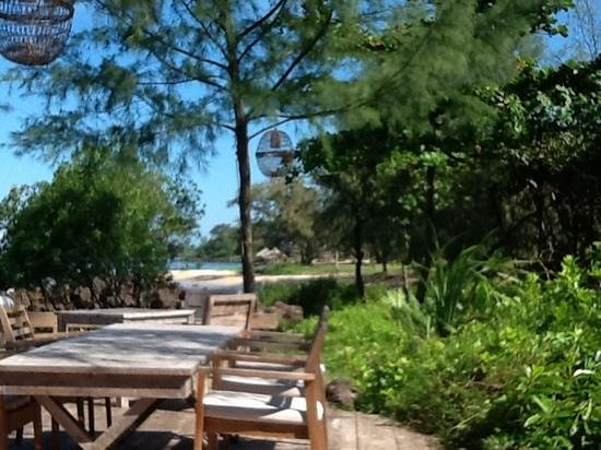 Mango Bay Resort: het restaurant