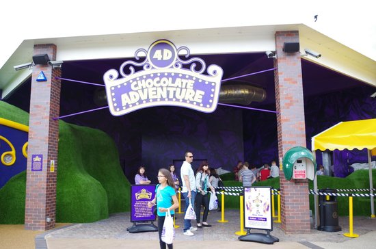 Cadbury World: The 4D Chocolate Adventure