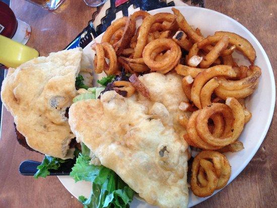 The View Restaurant : Navajo burger