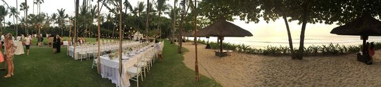 INTERCONTINENTAL Bali Resort : Our wedding set up