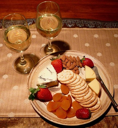 31 The Rocks: Cheese platter