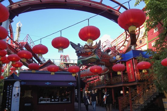 Tivoli Gardens rides