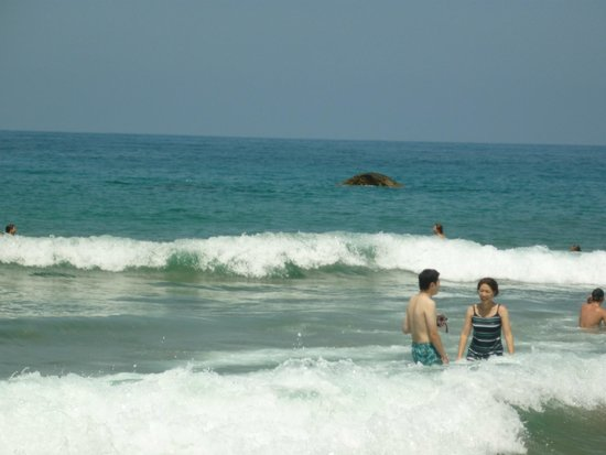 Lara Beach: lovely clear waters