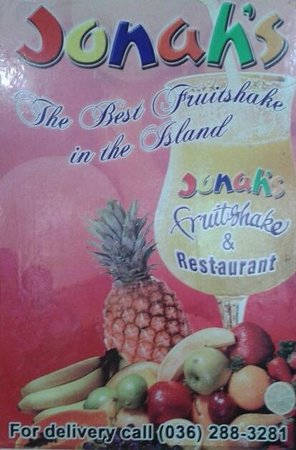 Jonah's Fruit Shake & Snack Bar: poster