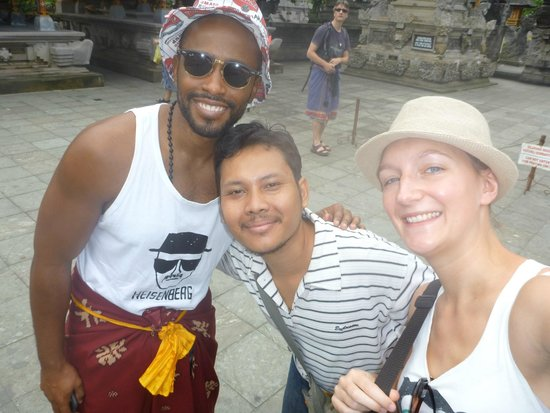 Bali Made Tour - Day Tours: Us with our guide, Ketut
