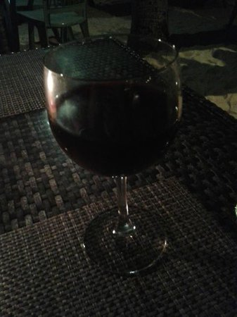 7th Note Cafe : red wine