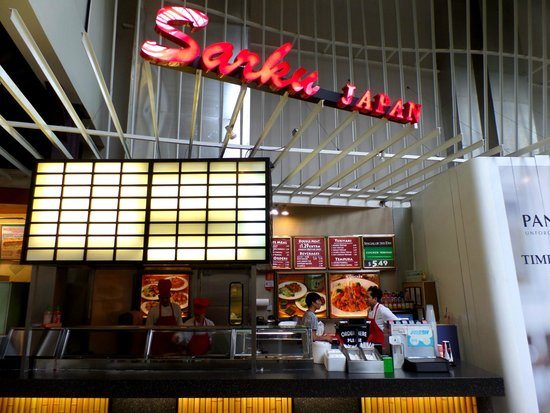 Sarku Japan: Their section in the mall