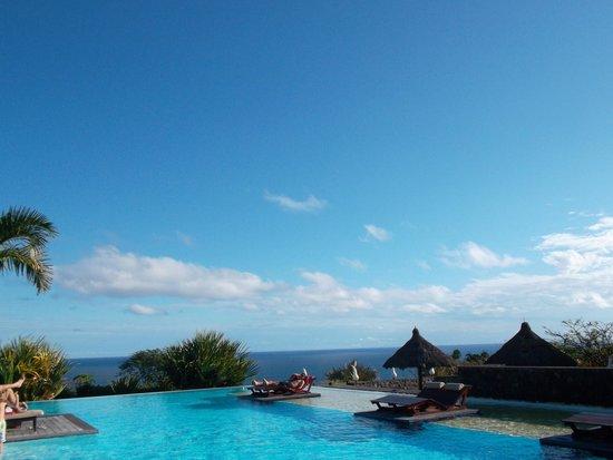 Petite-Ile, Réunion: piscine vue 1