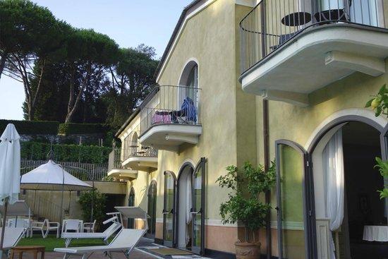 Hotel Villa Agnese: Hotel Innenbereich