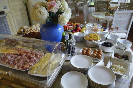 Hotel Villa Agnese: Frühstücksbuffet
