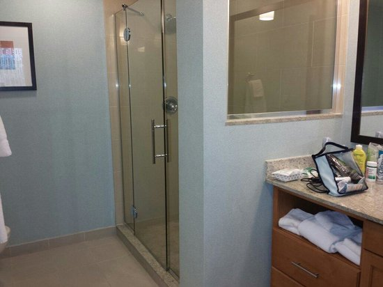 HYATT house Fort Lauderdale Airport & Cruise Port: Bagno Luglio 2014