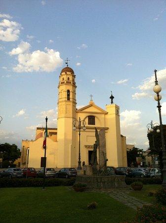 Basilica Pontificia Minore di Sant'Elena Imperatrice: Facciata di Sant'Elena Imperatrice