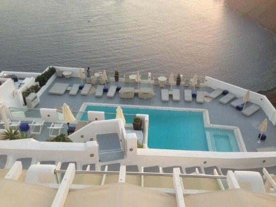 Belvedere Santorini : belvedere pool