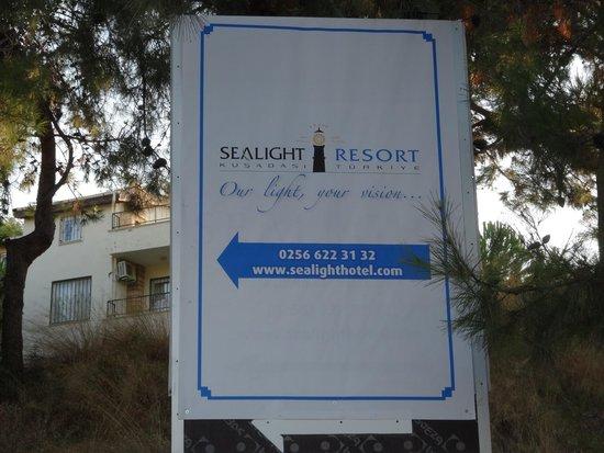 Sealight Resort Hotel: c'est par içi