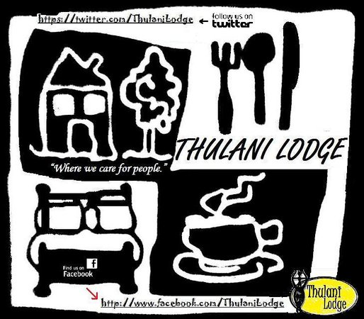 Thulani Lodge: Poster promoting the Lodge