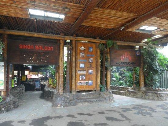 The Carnivore Restaurant: Entrance