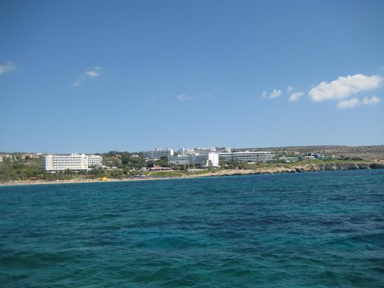 Grecian Sands Hotel: View from the cruise