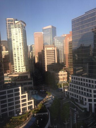 Pan Pacific Vancouver: Room view