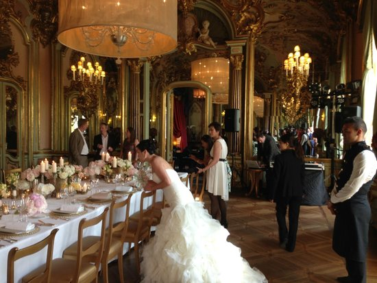 Villa Cora: wedding reception