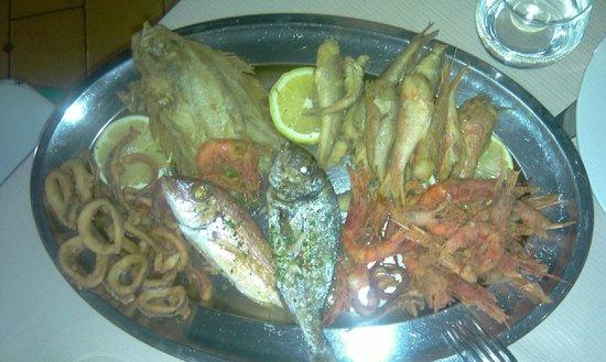 Ristorante Capotavola: Grilled fish and seafood