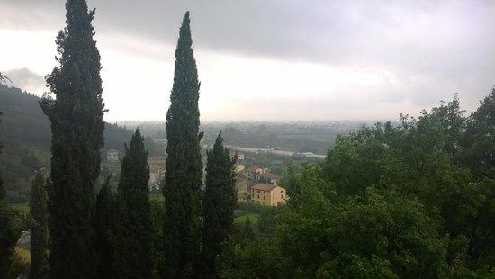 Villa Alta: la vista in autunno