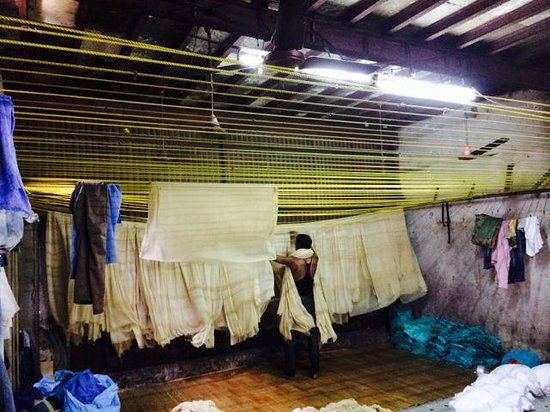 Be The Local Tours and Travel: Fabric dying