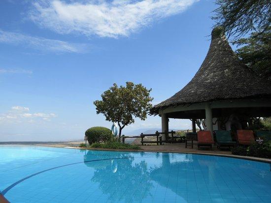 Lake Manyara Serena Lodge: infinity pool