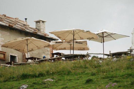 Rifugio Malga Malera: vista rifugio