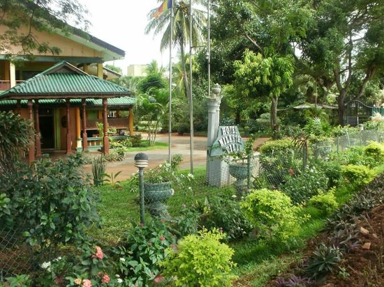Nilketha Villa Eco Hotel: view from the road