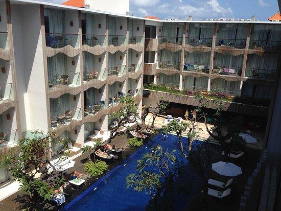 The Bene Hotel: Вид из номера