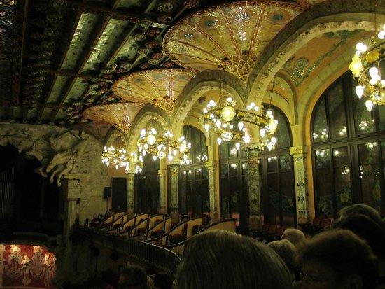 Palais de la Musique Catalane (Palau de la Musica Catalana) : dettaglio interno