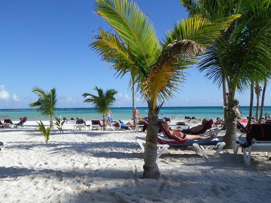 Hotel Barcelo Maya Beach: Plage