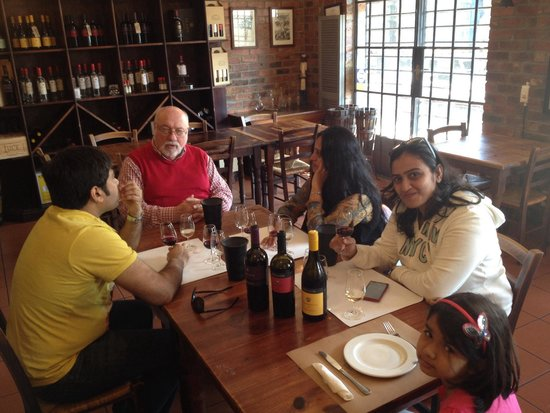 Winemakers Way: tasting with don giorgio from dalla cia wines