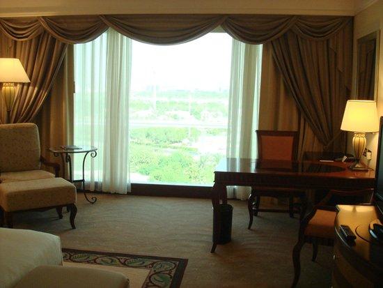 Grand Hyatt Dubai: 大きな窓