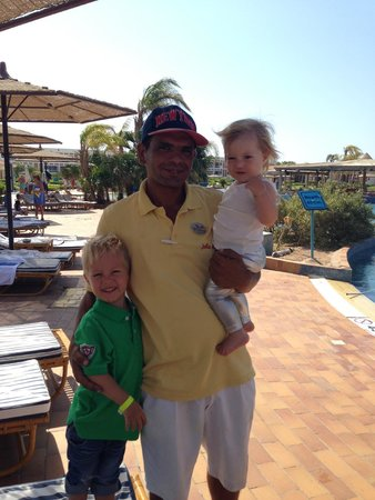 "Maritim Jolie Ville Golf & Resort: Mohamed with ""his best friends"""