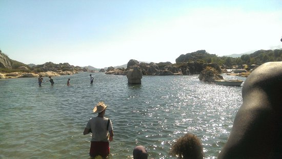 Kalekoy Harbour : Taş Lahit Mezar (Likya)