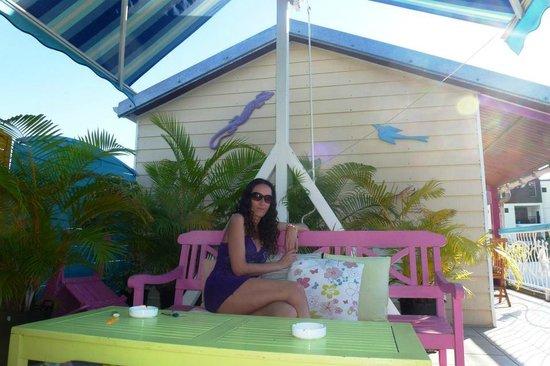 HOTEL DE LA PLAGE : Terrase Hôtel de la plage