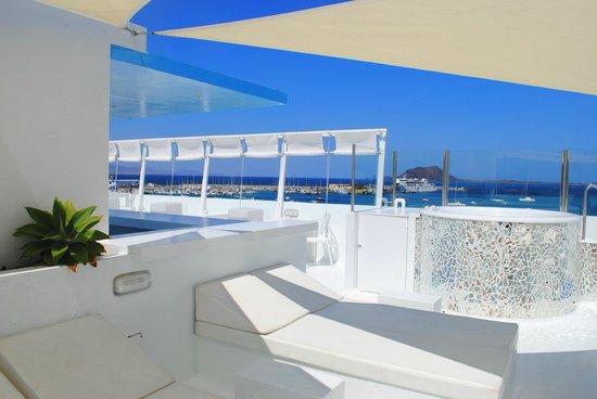 Avanti Hotel Boutique Fuerteventura: Rooftop with Jaccuzzi