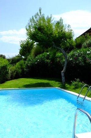 Cape Sounio, Grecotel Exclusive Resort : la piscine de la chambre 401