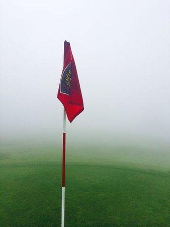 Golf Club Crans-sur-Sierre : Wirklich kein Spass, so zu spielen und auch keine Einsicht oder akzeptables Entgegenkommen des M