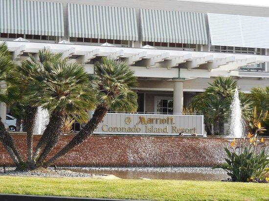 Coronado Island Marriott Resort & Spa : Facade hôtel
