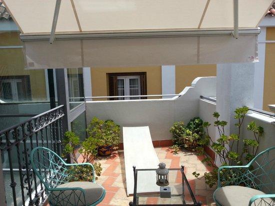 Hotel Amadeus: Private Terrace