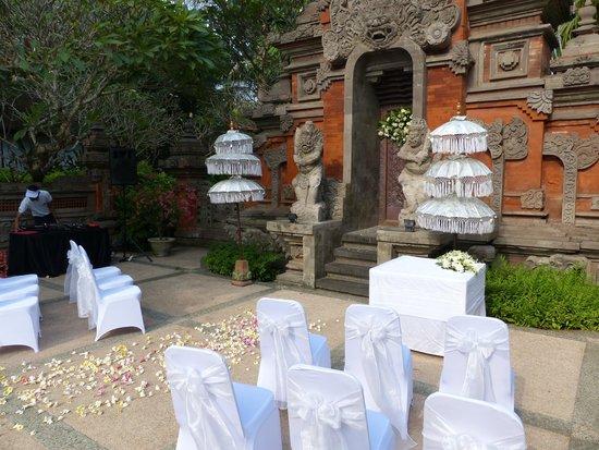Wedding at Bali Garden Beach Resort